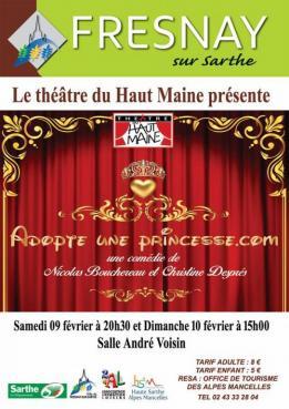 Alpes mancelles activités présente : Adopte une princesse .com le 2019-02-10 15:00:00 - 2019-02-10 17:00:00