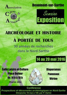 L'Association Culture et Archéologie de Oisseau-le-Petit