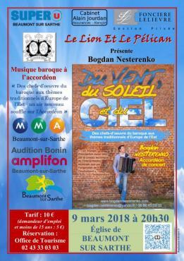 Alpes mancelles activités présente : Du vent, du soleil et du Ciel... le 2018-03-09 20:30:00 - 2018-03-09 22:00:00