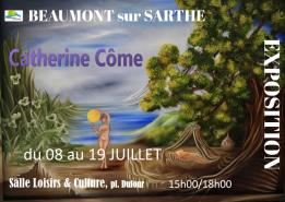 Alpes mancelles activités présente Expo : Catherine Côme le 2017-07-08 15:00:00 - 2017-07-19 18:00:00