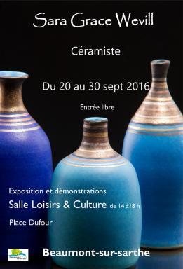 Exposition Sara Grace Wevill à Beaumont-sur-Sarthe