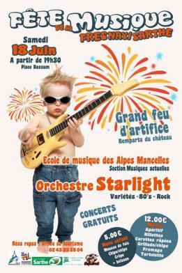 Fête de la Musique 2016 - Fresnay-sur-Sarthe