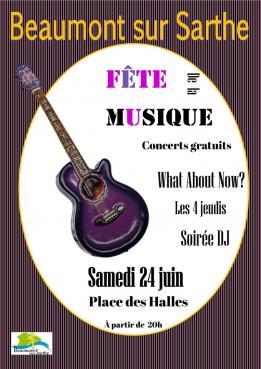 Alpes mancelles activités présente : Fête de la musique 2017 à Beaumont-sur-Sarthe le 2017-06-24 20:00:00 - 2017-06-24 23:59:00