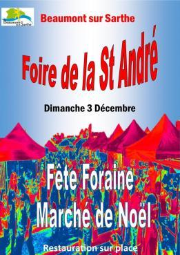 Alpes mancelles activités présente : Foire de Saint-André 2017 le 2017-11-29 14:00:00 - 2017-12-03 19:00:00