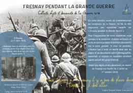 Alpes mancelles activités présente : Fresnay pendant la Grande Guerre le 2018-07-02 09:00:00 - 2018-10-01 18:00:00