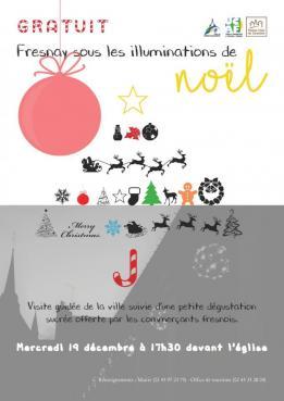 Alpes mancelles activités présente : Fresnay sous les illuminations de Noël le 2018-12-19 17:30:00 - 2018-12-19 19:00:00