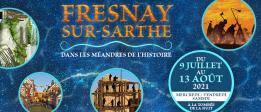 Alpes mancelles activités présente : Fresnay-sur-Sarthe dans les méandres de l'histoire le 2021-07-10 21:30:00 - 2021-07-10 23:00:00