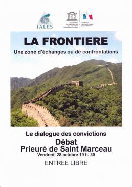 FRONTIERE : UNE ZONE D'ECHANGES OU DE CONFRONTATION ?