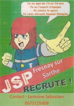 Alpes mancelles activités présente : Jeunes Sapeurs Pompiers le