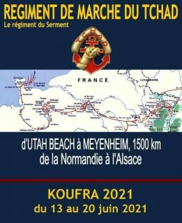 Alpes mancelles activités présente : Koufra 2021 le 2021-06-15 17:00:00 - 2021-06-15 19:00:00