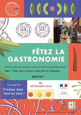 Alpes mancelles activités présente : La Fête de la gastronomie à Fresnay-sur-Sarthe le 2018-09-22 10:30:00 - 2018-09-22 12:30:00