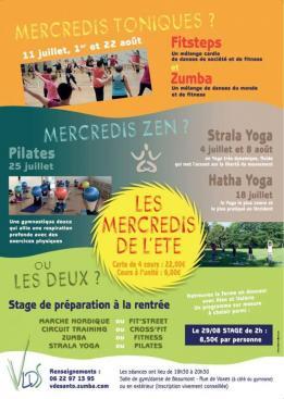 Alpes mancelles activités présente : Les mercredis de l'été le 2018-07-25 19:30:00 - 2018-07-25 20:30:00