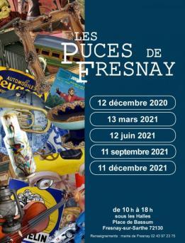 Alpes mancelles activités présente : Les puces de Fresnay le 2021-09-11 10:00:00 - 2021-09-11 18:00:00