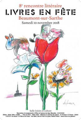 Alpes mancelles activités présente : Livres en fête le 2018-11-10 10:00:00 - 2018-11-10 18:00:00