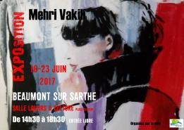 Alpes mancelles activités présente Mehri Vakili à Beaumont-sur-Sarthe le 2017-06-16 14:30:00 - 2017-06-23 18:30:00