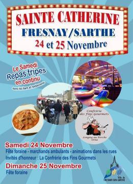 Alpes mancelles activités présente : Sainte Catherine 2018 le 2018-11-24 08:00:00 - 2018-11-25 18:00:00
