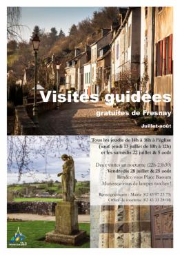Alpes mancelles activités présente Visite guidée de Fresnay le 2017-07-20 14:00:00 - 2017-07-20 16:00:00