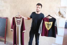 Alpes mancelles activités présente : Visitez le château de Sillé-le-Guillaume en costume ! le 2018-08-08 15:30:00 - 2018-08-08 16:30:00
