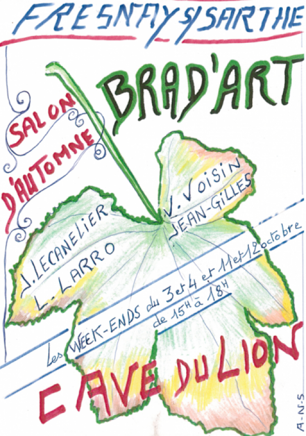 La Cave du Lion - Fresnay sur Sarthe - Brad'art - Artistes Nord Sarthe 2015