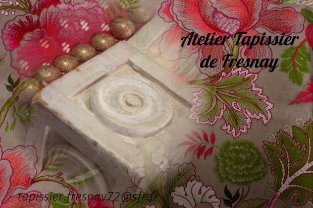 Jean-Daniel LECRUX, Tapissier : Alpes mancelles activités - FRESNAY-SUR-SARTHE : tapissier, décorateur