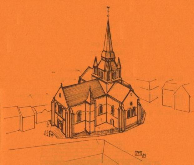Église Notre-Dame de Fresnay au 20è siècle