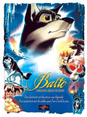 Alpes mancelles activités présente : BALTO CHIEN LOUP HEROS DES NEIGES au cinéma de Fresnay-sur-Sarthe