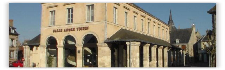 Alpes mancelles - Fresnay - Halles - Salle André Voisin