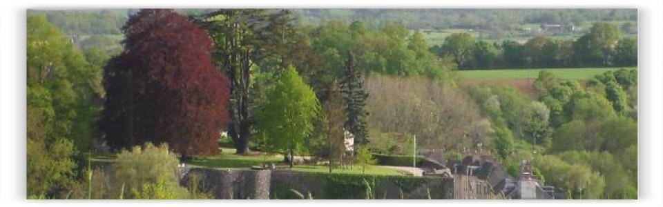 Alpes mancelles - Fresnay - Parc du château