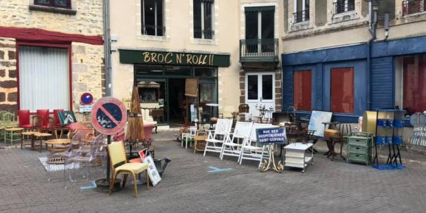 BROC N' ROLL !! : Alpes mancelles activités - FRESNAY-SUR-SARTHE : brocante