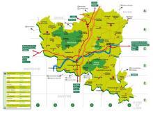 Alpes mancelles activités : Carte Pays d'Alençon - Côté Orne (61) - cartes & plans