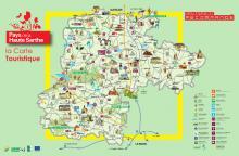 Carte Pays de la Haute de Sarthe