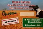 Alpes mancelles activités présente : Comice de Saint Victeur le 2017-08-25 18:00:00 - 2017-08-27 02:00:00
